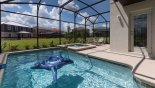 Villa rentals in Orlando, check out the Sunny south east facing pool & spa