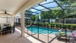 Spacious rental Windsor Hills Resort Villa in Orlando complete with stunning Enclosed Pool, Spa with security fencing