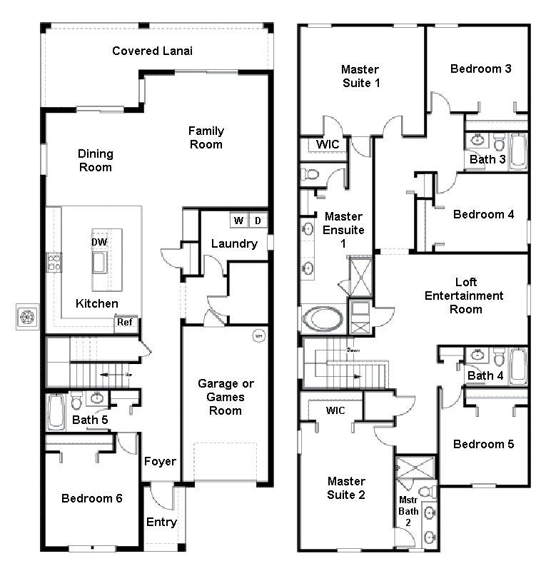 Majesty Palm 2 Floorplan