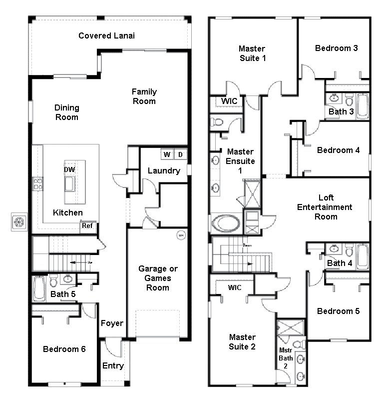 Majesty Palm 2 Floorplan