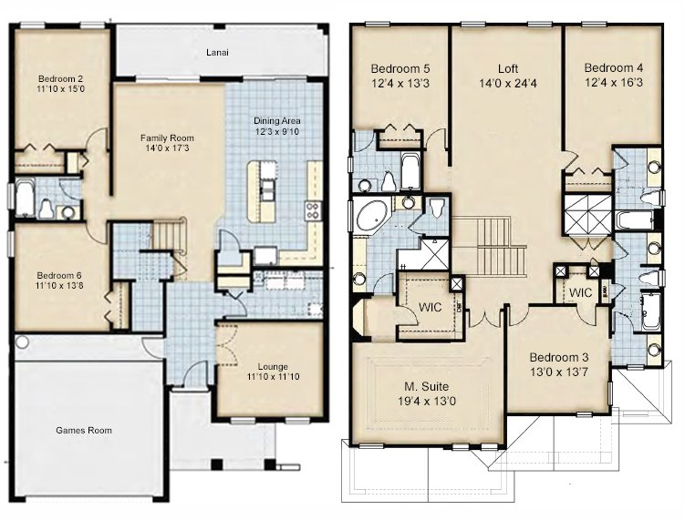 Coconut Palm 6 Floorplan