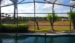 No rear neighbours - just attractive views from Magnolia 1 Villa for rent in Orlando