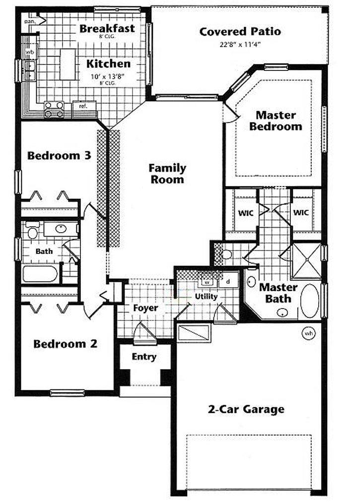 Magnolia 1 Floorplan