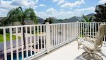 Orlando Villa for rent direct from owner, check out the Balcony to rear of villa with views onto pool