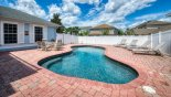 Villa rentals near Disney direct with owner, check out the Private pool deck with 4 sun loungers