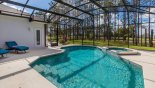 Villa rentals near Disney direct with owner, check out the Pool deck get sun all day and is totally private from the rear
