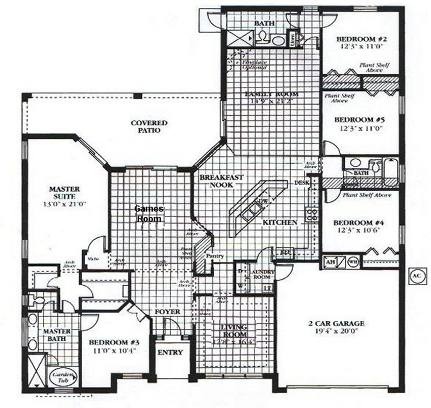 Wellesley 3 Floorplan