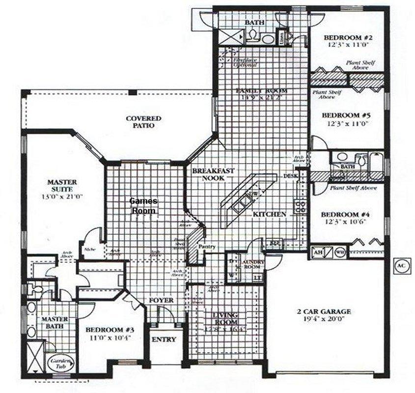 Wellesley 3 Floorplan