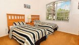 Twin bedroom 3 from Highlands Reserve rental Villa direct from owner