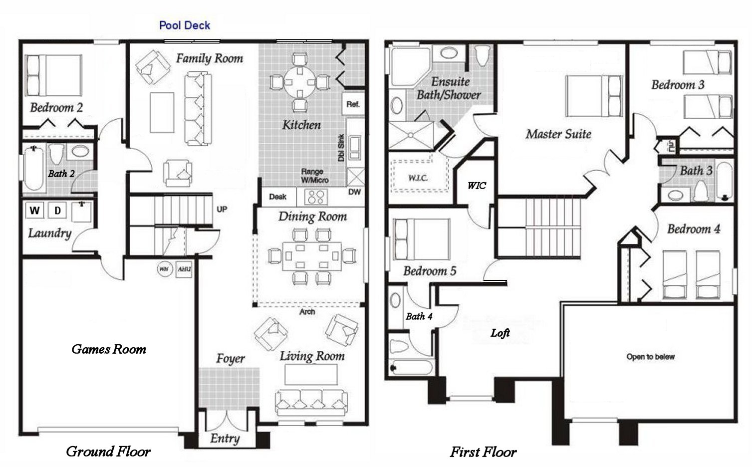 Birchwood 5 Floorplan