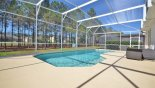 Spacious rental Highlands Reserve Villa in Orlando complete with stunning View of large south west facing pool