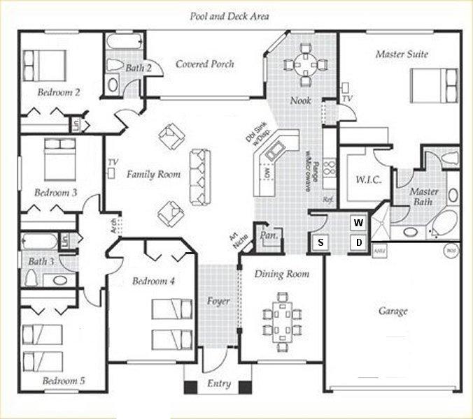 Emerald + 5 Floorplan