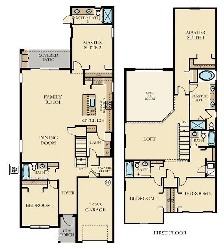 Alexander Palm 2 Floorplan