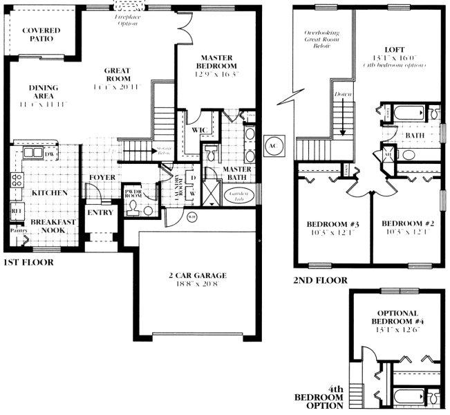 Belmonte + 3 Floorplan