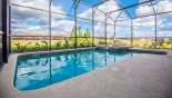 Villa rentals near Disney direct with owner, check out the View of pool & spa with open views