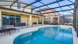 Villa rentals in Orlando, check out the South facing pool & spa