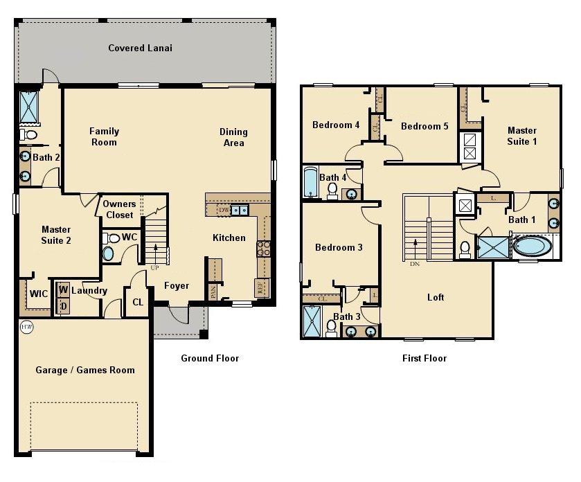 Bali 1 Floorplan