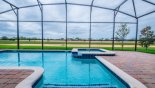 Villa rentals near Disney direct with owner, check out the Large west facing pool & spa with vast open views
