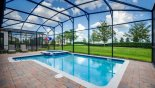 East facing pool & spa with open views - www.iwantavilla.com is your first choice of Villa rentals in Orlando direct with owner