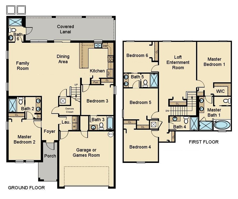 Cayman 1 Floorplan