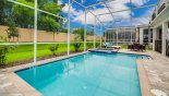 Orlando Villa for rent direct from owner, check out the South facing pool deck with no rear neighbours