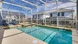 Sunny east facing pool & spa - www.iwantavilla.com is the best in Orlando vacation Villa rentals
