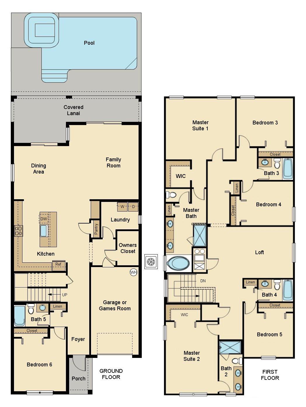 Majesty Palm 8 Floorplan