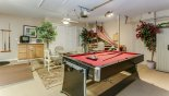 Villa rentals near Disney direct with owner, check out the Games room with pool table which swivels to become an air hockey table