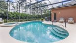 Spacious rental Highlands Reserve Villa in Orlando complete with stunning Totally private east facing pool - not overlooked
