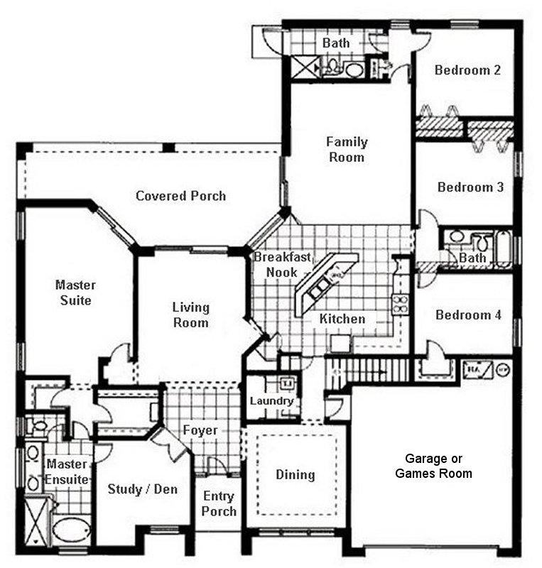 Wellesley 4 Floorplan