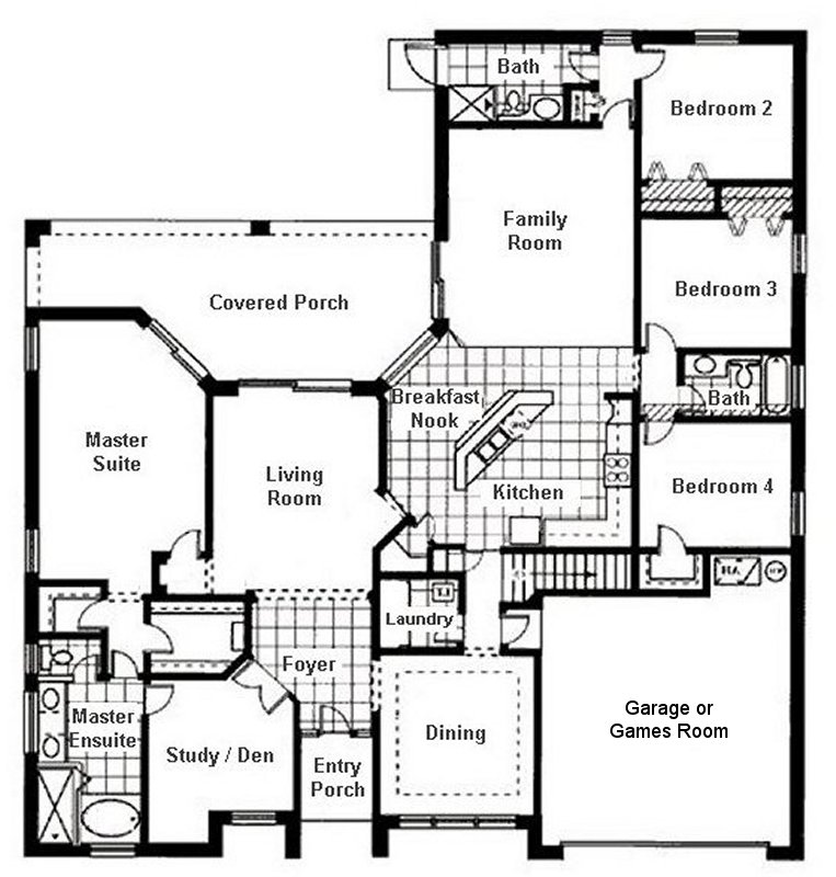 Wellesley 4 Floorplan