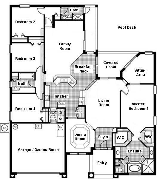 Cambridge 9 Floorplan