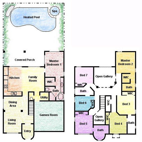 Palm Harbour 4 Floorplan