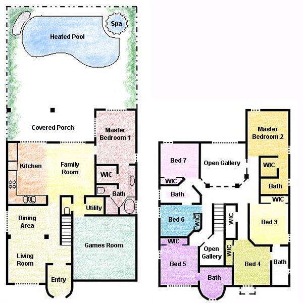 Palm Harbour 4 Floorplan