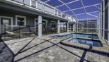 East facing pool & spa with this Orlando Villa for rent direct from owner