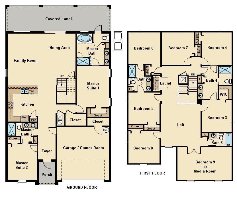 Maui 5 Floorplan