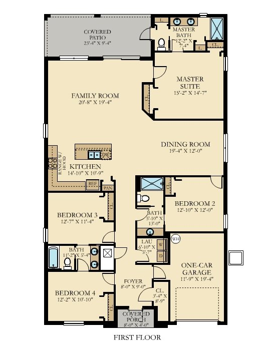 Aruba 1 Floorplan