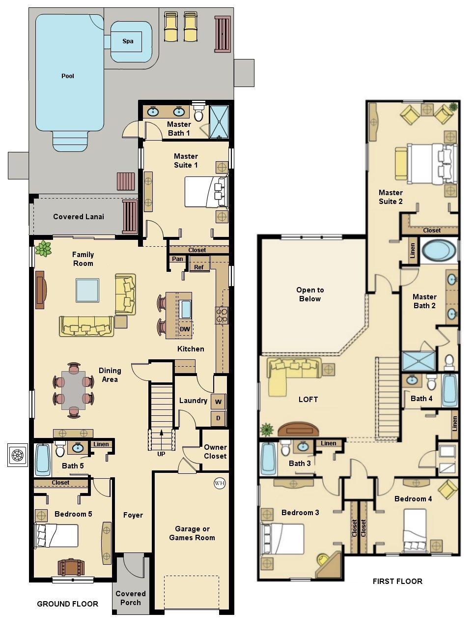 Alexander Palm 3 Floorplan