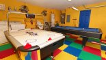 Villa rentals near Disney direct with owner, check out the Games room with pool table, table foosball & air hockey - Laundry facility also located here