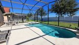 East facing pool & spa with no rear neighbours - watch Disney fireworks from pool deck from Cape San Blas 2 Villa for rent in Orlando
