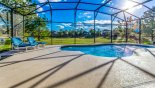 Orlando Villa for rent direct from owner, check out the Large sunny south facing pool deck with open views