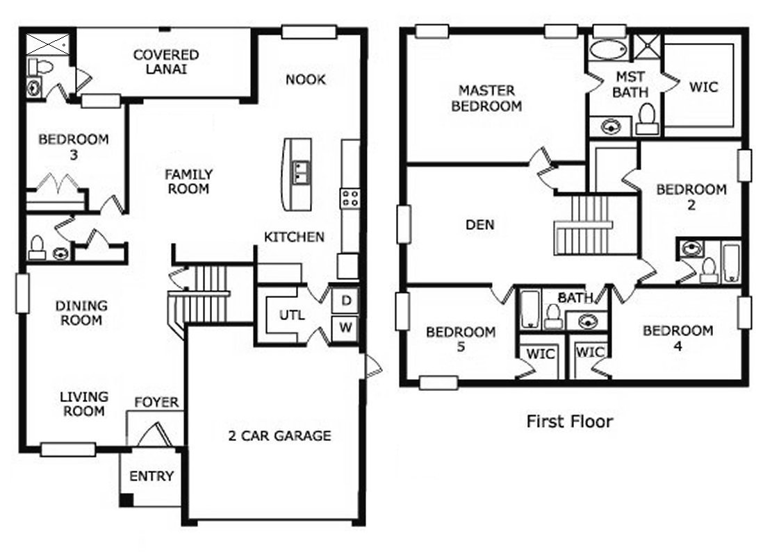 Maple Tree 1 Floorplan