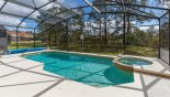 Pool deck gets the sun all day from Watersong Resort rental Villa direct from owner