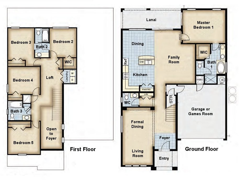 Beverly Beach 2 Floorplan