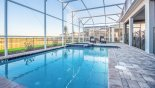 Orlando Villa for rent direct from owner, check out the Pool and deck area complete with two sun loungers