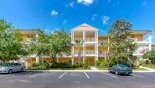 Grand Bahama 2 Condo rental near Disney with View of condo block from car park