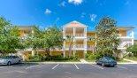 Grand Bahama 2 Condo rental near Disney with View of condo block from car park