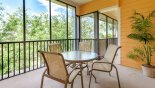Orlando Condo for rent direct from owner, check out the Balcony with great views of lush planting - great place for alfresco dining