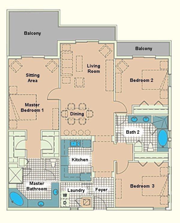 Grand Bahama 2 Floorplan
