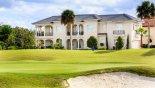 Positano 1 Villa rental near Disney with View of villa from golf course